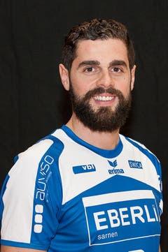 #13 Vukasin Stojanovic, 194 cm, 94 kg (Bild: HC Kriens-Luzern / Fabienne Krummenacher)