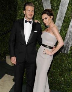 David und Victoria Beckham. (Bild: Keystone)
