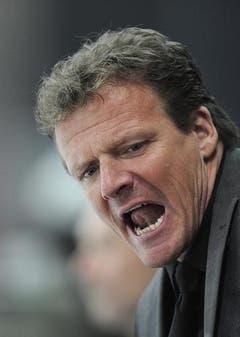 Der Bieler Coach Kevin Schlaepfer.Der Bieler Coach Kevin Schläpfer. (Bild: Keystone)