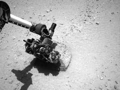 Der 2 Meter lange Roboter-Arm von Curiosity. (Bild: Keystone / Nasa)