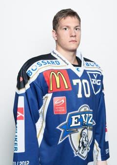 #70 Blaser Yannick (22), Verteidiger, 1.77 m, 85 kg. (Bild: pd)