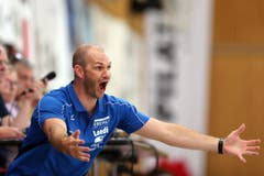 Kriens Trainer Heiko (Bild: Philipp Schmidli)
