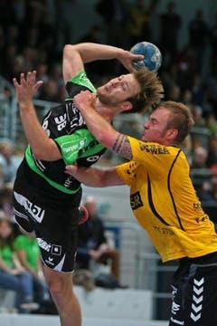 Thomas Hofstetter muss ich gegen Altdorfs Sebastian Munzert behaupten. (Bild: Philipp Schmidli / Neue LZ)