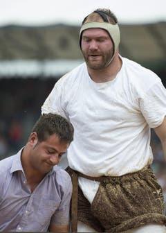 Philipp Reusser, links, verliert gegen Benji von Ah. (Bild: Keystone)