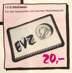 Für kurze Zeit hiess der EVZ-Nachwuchs Yellow Gaters.