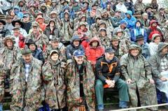 3000 Zuschauer kamen trotz Regen. (Bild: Franz Föhn)