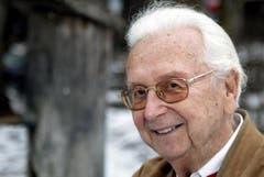 Walter Roderer im Jahr 2006. (Bild: Archiv Neue LZ)