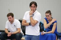 Luzerns Trainer Denis Milanez (Bild: Philipp Schmidli)