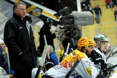 Der Zuger Coach Doug Shedden. (Bild: Karl Mathis / Keystone)
