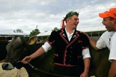 Zu den schönsten Erfolgen von Philipp Laimbacher zählen der zweite Platz am Eidgenössischen 2004 in Luzern. (Bild: Werner Schelbert)