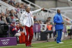 Coach Pierluigi Tami. (Bild: Keystone)