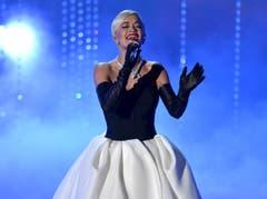 Sorgte für den Ohrenschmaus: Rita Ora (Bild: Keystone / John Shearer)