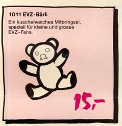 Eignet sich speziell für kleine und grosse EVZ-Fans.