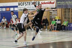 Gossaus Florian Engeler (links) versucht den Krienser Andraz Podversic zu stoppen. (Bild: Roger Zbinden/Neue LZ)