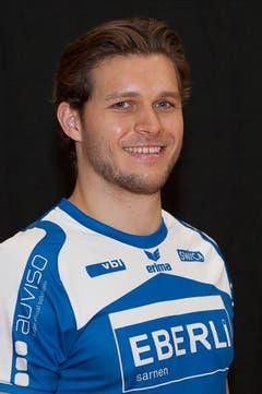 #24 Tobias Baumgartner, 188 cm, 95 kg (Bild: HC Kriens-Luzern / Fabienne Krummenacher)