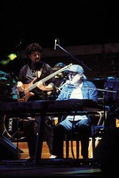 Der Sänger war auch häufig am Piano zu hören. (Bild: Imago)