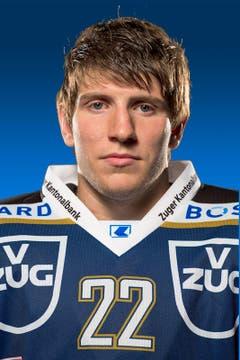 Matthias Rossi, # 22 / Alter: 21 / Masse: 1,85m, 100kg / Vertrag bis 2013 (Bild: EVZ)