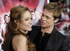 Hat Brad Pitt Jennifer Aniston wirklich wegen Angelina Jolie verlassen? Wir werden es wohl nie erfahren... (Bild: Keystone)