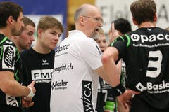 Kriens Trainer Torben Winther (Bild: Philipp Schmidli / Neue LZ)