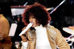 2002 erschien mit «Just Whitney...» Houstons fünftes Studioalbum. Es gilt als das am wenigsten erfolgreiche Album der Künstlerin. (Bild: Imago)