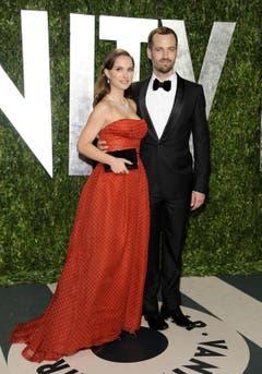 Natalie Portman und Benjamin Millepied. (Bild: Keystone)