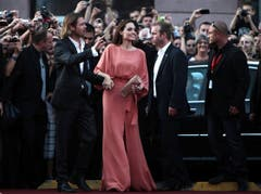 """Im Herbst 2010 fanden die Dreharbeiten zu """"In the Land of Blood and Honey"""" statt. Das Kriegsdrama, bei dem Jolie Regie führte, erzählt eine Liebesgeschichte während des Bosnienkriegs. (Bild: Keystone)"""