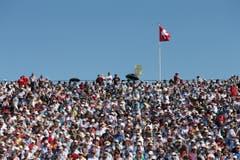 Viele Zuschauer am 16. Kilchberger Schwinget (Bild: Philipp Schmidli)