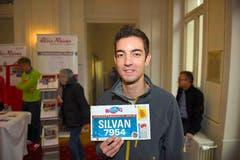 Silvan Lingg, Römerswil: «Im Sommer habe ich am Fisherman's Friend StrongmanRun in Engelberg teilgenommen. Nun habe ich mir mit dem Halbmarathon in Luzern ein neues Ziel gesetzt.» (Bild: Michael Wyss)