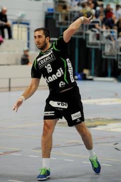 Boris Stankovic kam auf fünf Treffer. (Bild: Boris Bürgisser / Neue LZ)