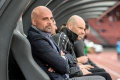 Sein Team ist wieder auf der Siegesstrasse: Trainer Giorgio Contini darf sich freuen. (Bild: Freshfocus)