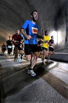 Der Lauf durch den Tunnel. (Bild: Evel)