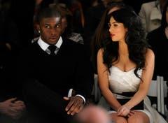 Im Jahr 2009 besuchte Kim Kardashian mit Sportler Reggie Bush eine Modeshow in New York. (Bild: Keystone)