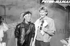 Whitney Houston 1985 in einer ARD-Fernsehsendung mit Peter Illmann. (Bild: Imago)