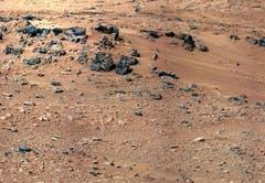Dieses Foto von der Marsoberfläche stammt vom 28. September. (Bild: Keystone)