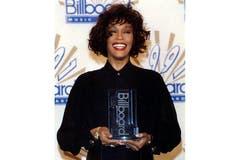 Houston 1991 bei der Verleihung der Billboard Music Awards. (Bild: Imago)