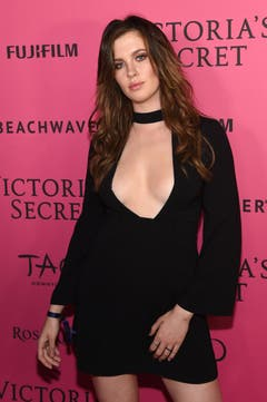 Ireland Baldwin im Vorfeld der Modeshow. (Bild: Keystone)