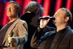 9. Juli 2011: Auftritt mit dem Tenor Joseph Calleja (r.) in Malta. (Bild: Imago)