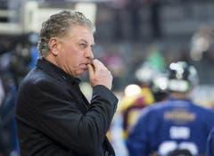 EVZ-Coach Doug Shedden. (Bild: Keystone)