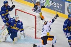 Viktor Stalberg trifft zum 1:2... (Bild: Jürgen Staiger / Keystone)