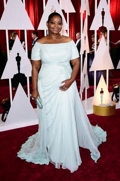 Octavia Spencer in eleganter Traumrobe. (Bild: Keysteon / Paul Buck)