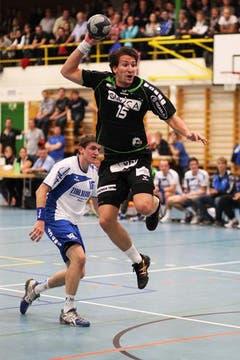 Kriens' Fabio Baviera erzielte vier Treffer. (Bild: Roger Zbinden/Neue LZ)