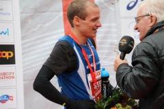Der Gewinner: Stefan Trummer aus Spiez. (Bild: Ramona Geiger/ Claude Hagen/LZ)