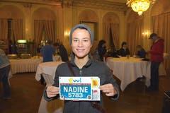Nadine Lüdi, Dierikon: «Ich habe mir gesagt, wenn man gegen 30 Jahre alt wird, geht man nicht mehr in den Ausgang, sondern absolviert Marathonläufe.» (Bild: Michael Wyss)