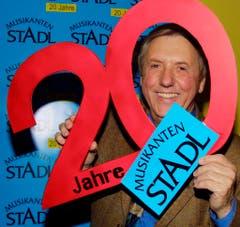 "Am 24. Januar 2001 feierte Karl Moik 20 Jahre ""Musikantenstadl"". (Bild: Keystone)"