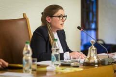 Franziska Ryser, Parlamentspräsidentin Stadt St.Gallen, St.Gallen. (Bild: Hanspeter Schiess)