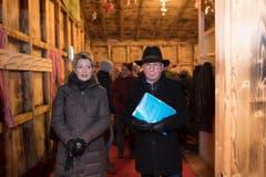 Karin Keller-Sutter und Fredy Fässler. (Bild: Urs Bucher)