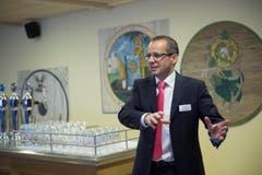 Reto Preisig, CEO Brauerei Schützengarten, St.Gallen. (Bild: Ralph Ribi)