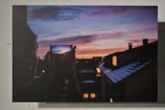 Oktober: Timon Riechsteiner schoss dieses Bild auf seinem Balkon. (Bild: manuel nagel)