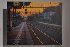 August: Ewan Graf fing diese herrliche Stimmung am Bahnhof ein. (Bild: manuel nagel)