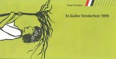"1999 fand das St.Galler Kinderfest unter dem Motto ""Chomm mer gönd..."" statt. (Bild: PD)"